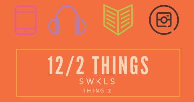 12 Things 2019:  Thing 2