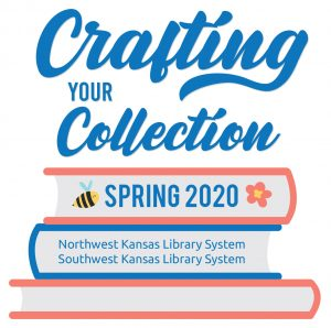 The Northwest and Southwest Kansas Library Systems present an educational opportunity entitled Crafting Your Collection.  The event will take place on April 3, 2020, nine thirty AM to three thirty, at the Bryan Conference Center in Scott City.